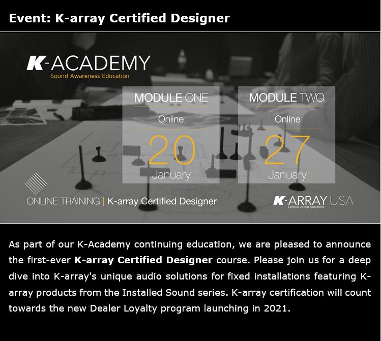 K-Academy Certified Designer Sessions